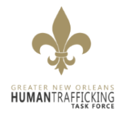 Greater New Orleans Human Trafficking Task Force (GNOHTTF) logo